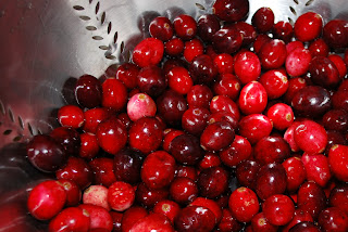 Favorite Recipe for Cranberries: The Healthy, Holiday Fruit