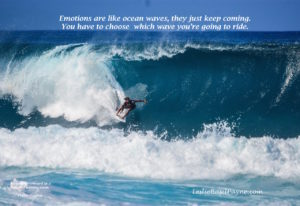 emotions are like waves